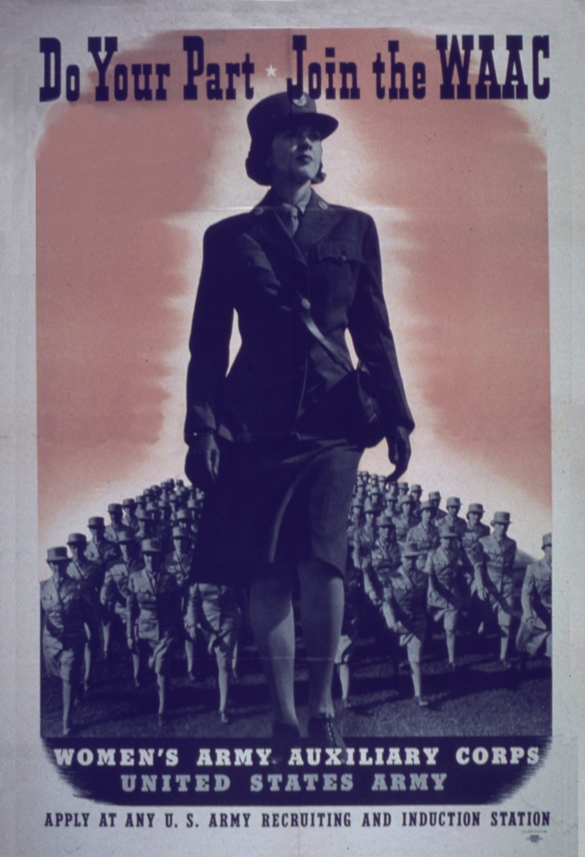 Do Your Part WAAC Recruiting Poster
