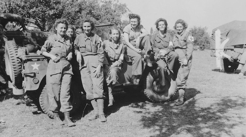 Field Hospital Army Nurses Arrive in France