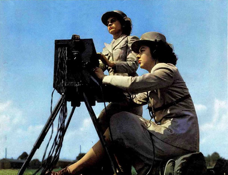 WAC Signal Corps Field Switchboard Operators