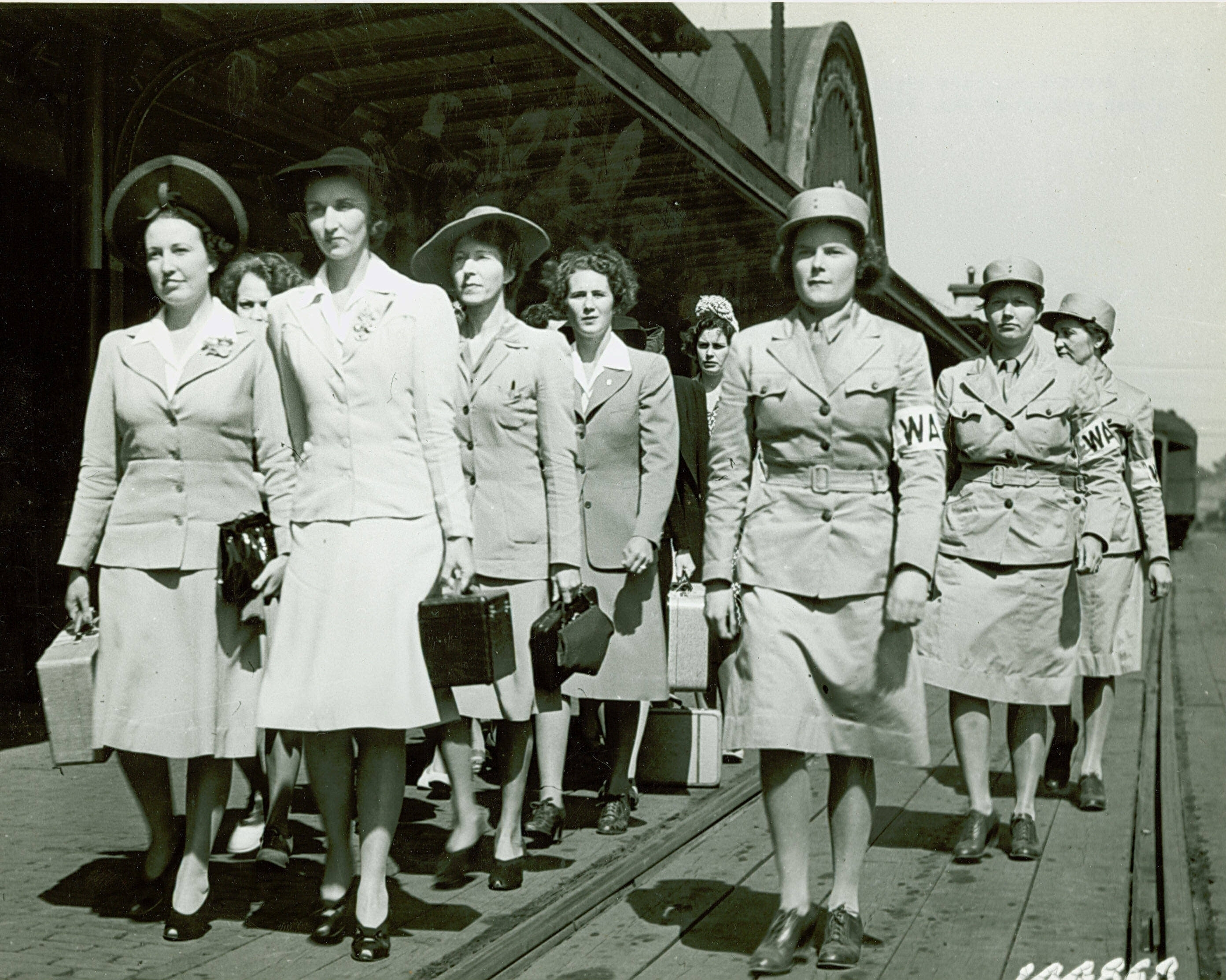 Women's Army Auxiliary Corps Recruits