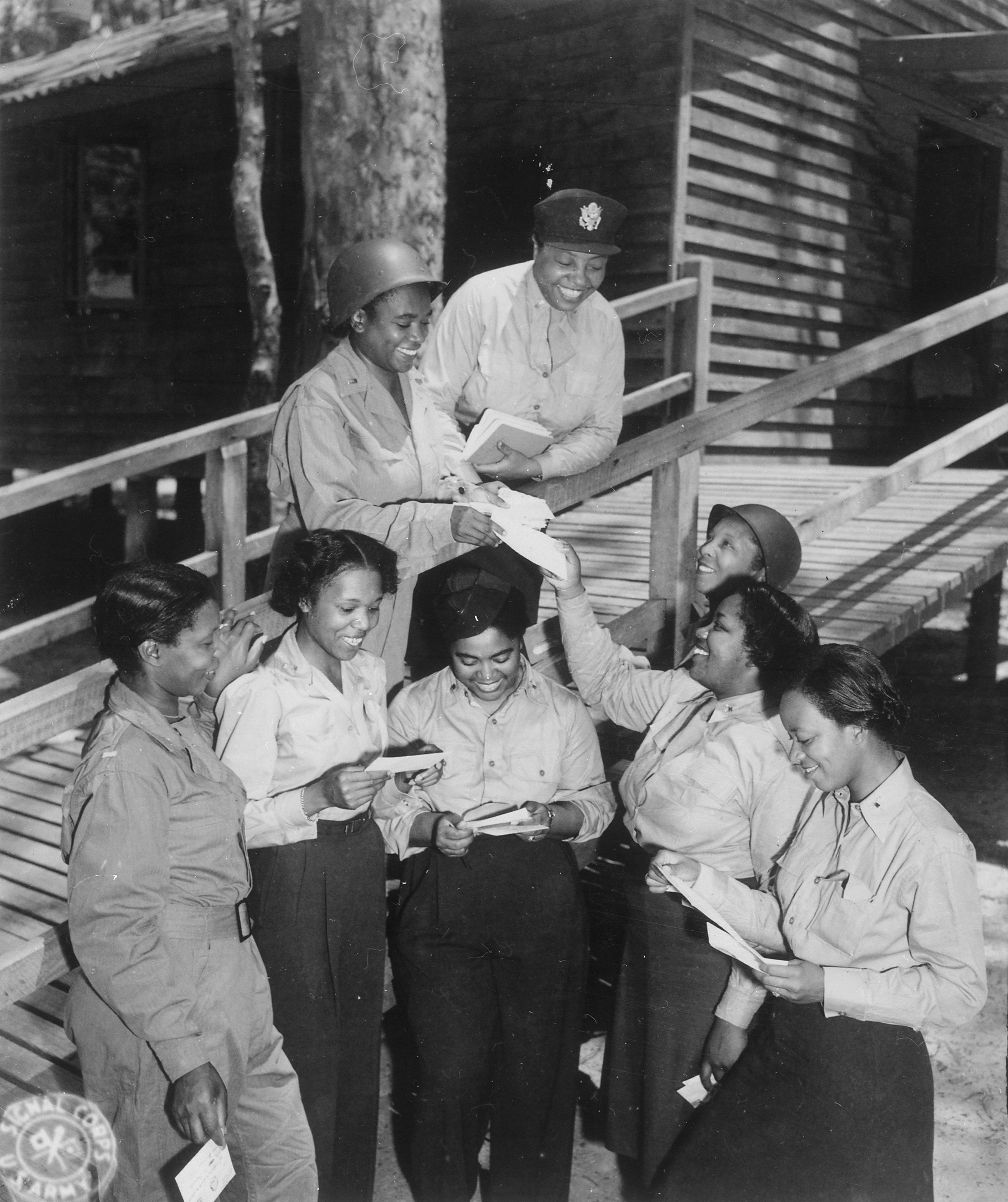 Mail Call For Army Nurses in Southwest Pacific