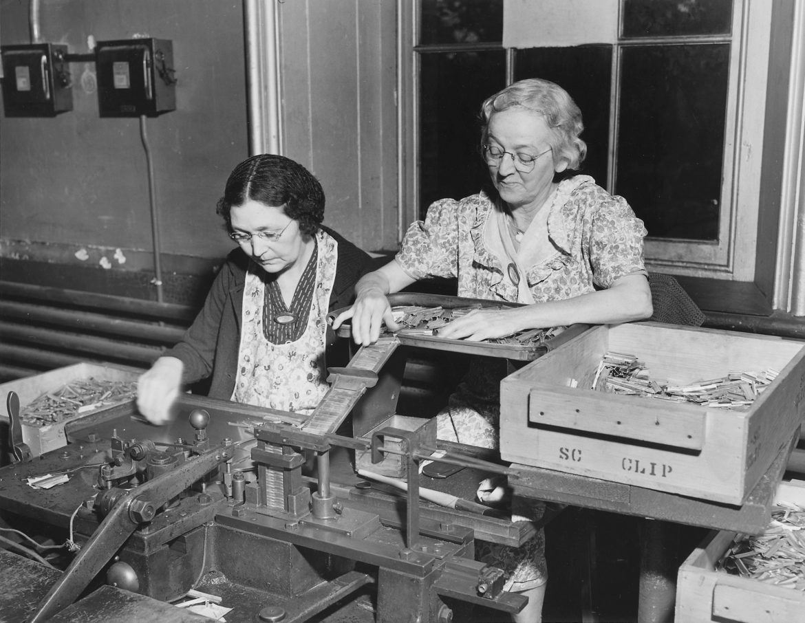 Women Workers at WWII Ammunition Plant