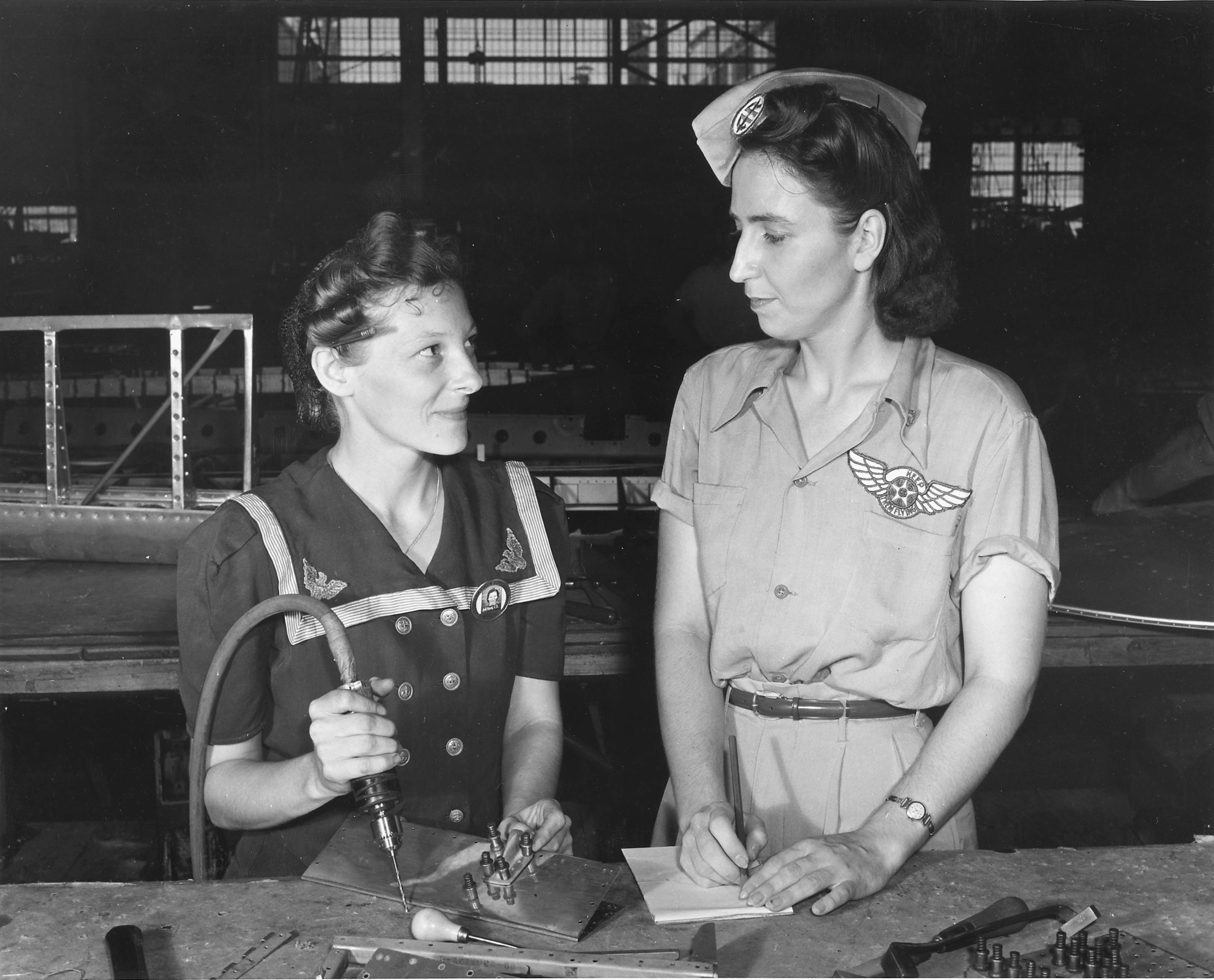 Pearl Harbor Widows Working in Corpus Christi