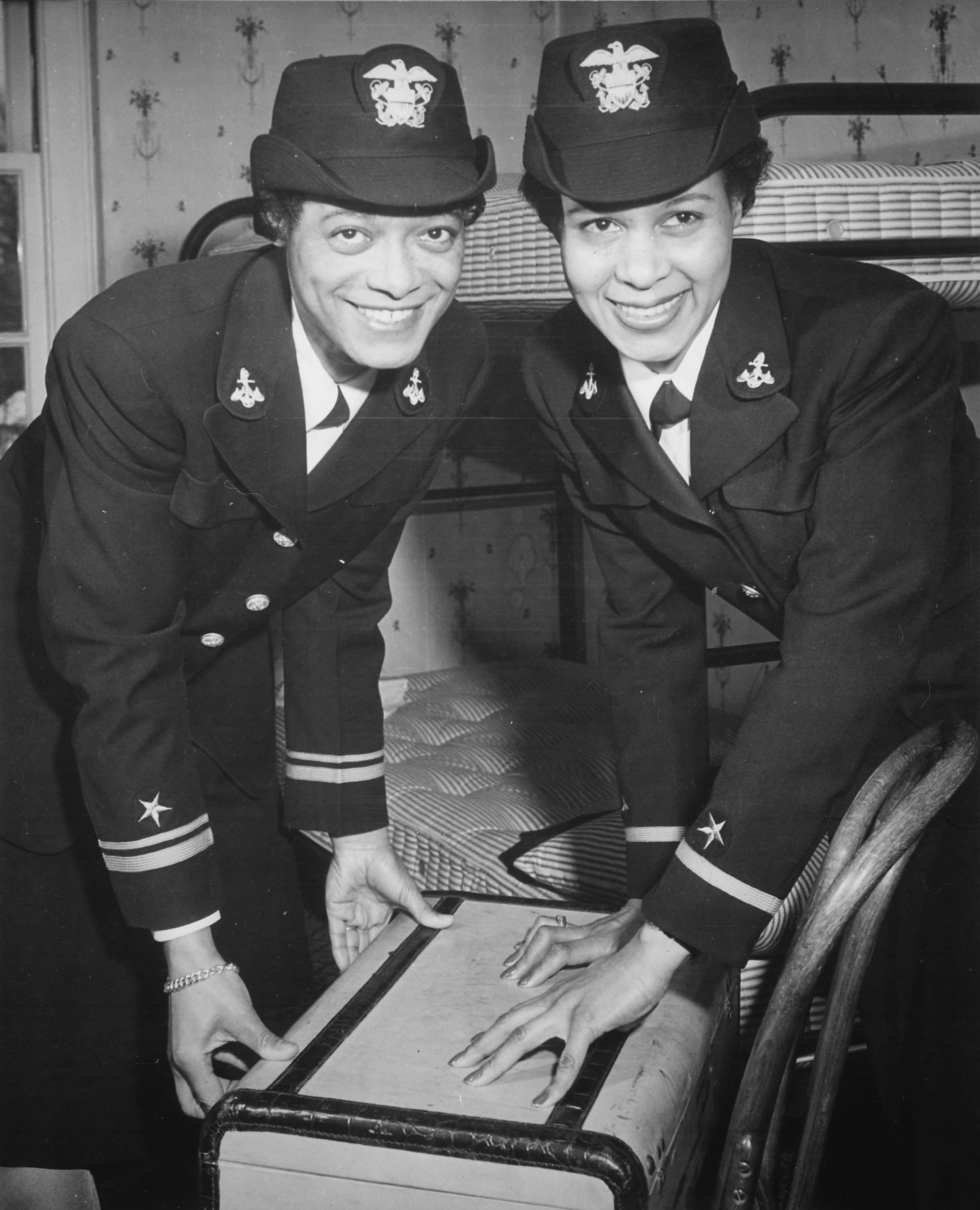 First African-American WAVES Officers