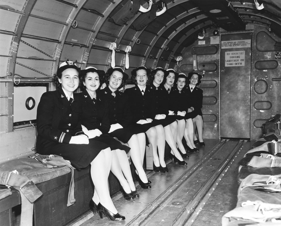 WAVES On Board a Douglas R4D-6 Transport Plane
