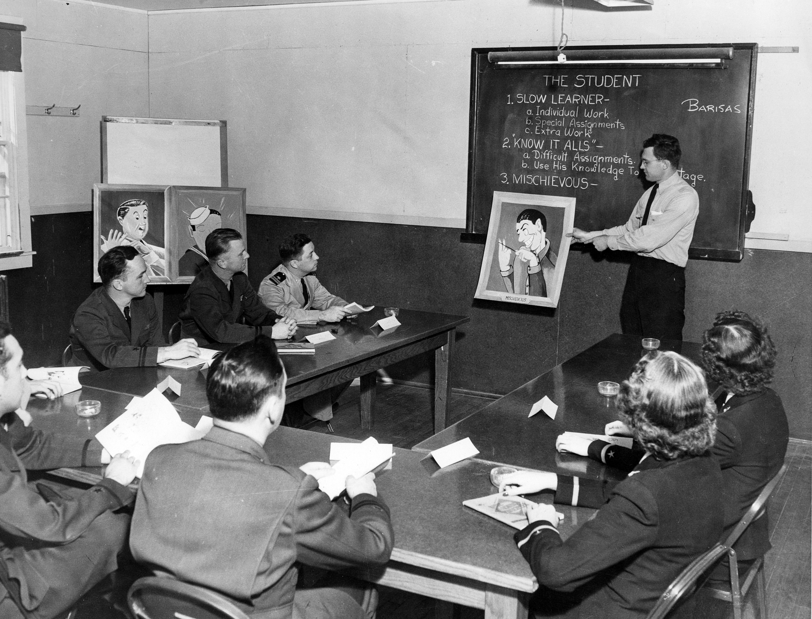 Classroom Instruction at NAS Memphis Training Center