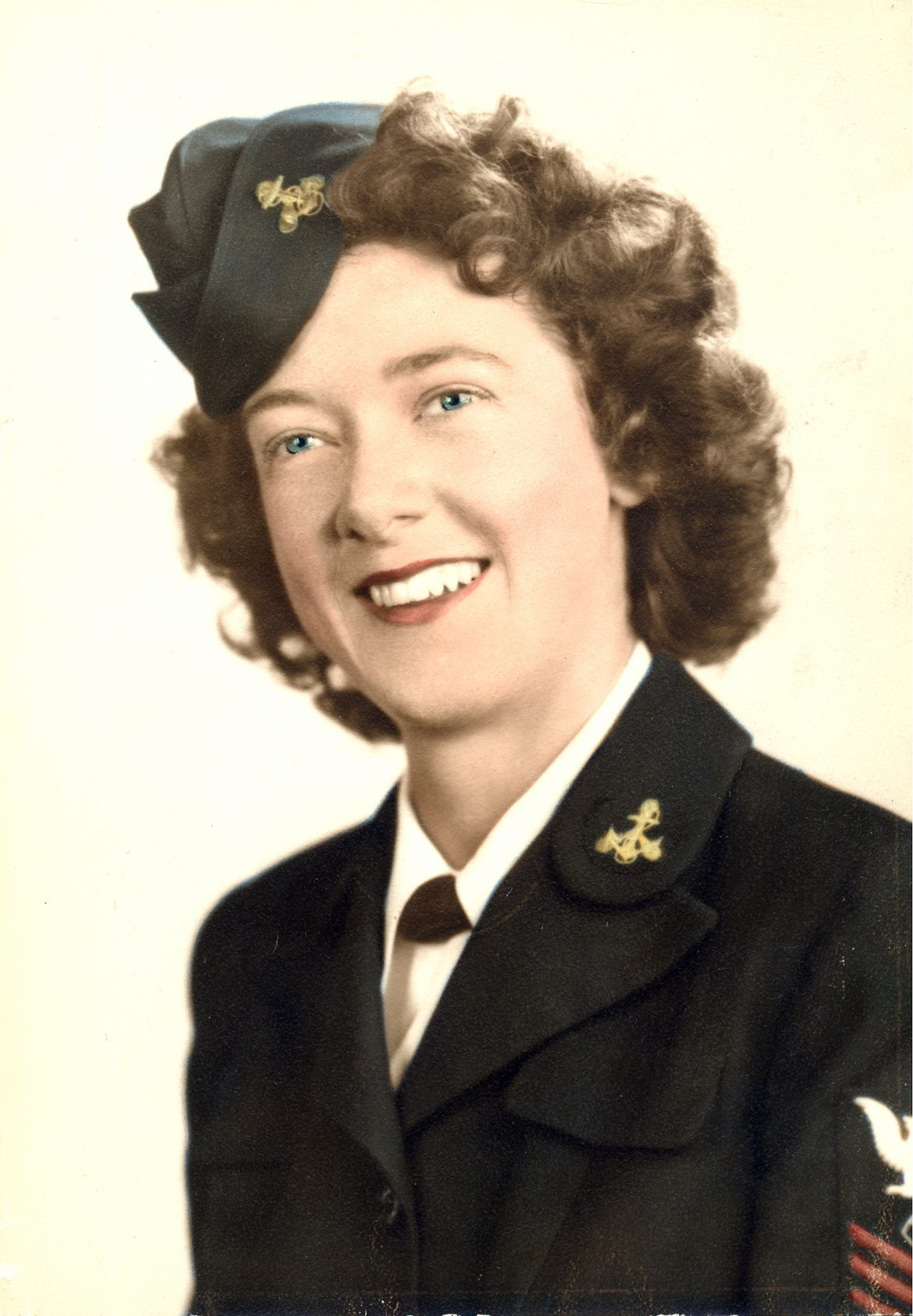 Official Navy WAVES Portrait of Mary H. Alexander