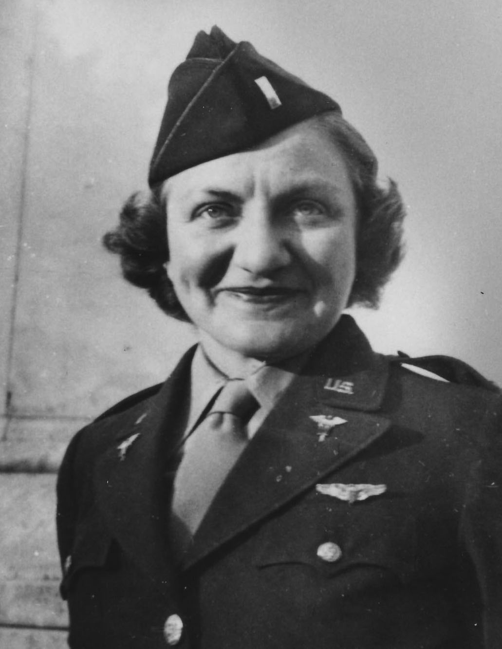 WWII Army Flight Nurse Aleda E. Lutz