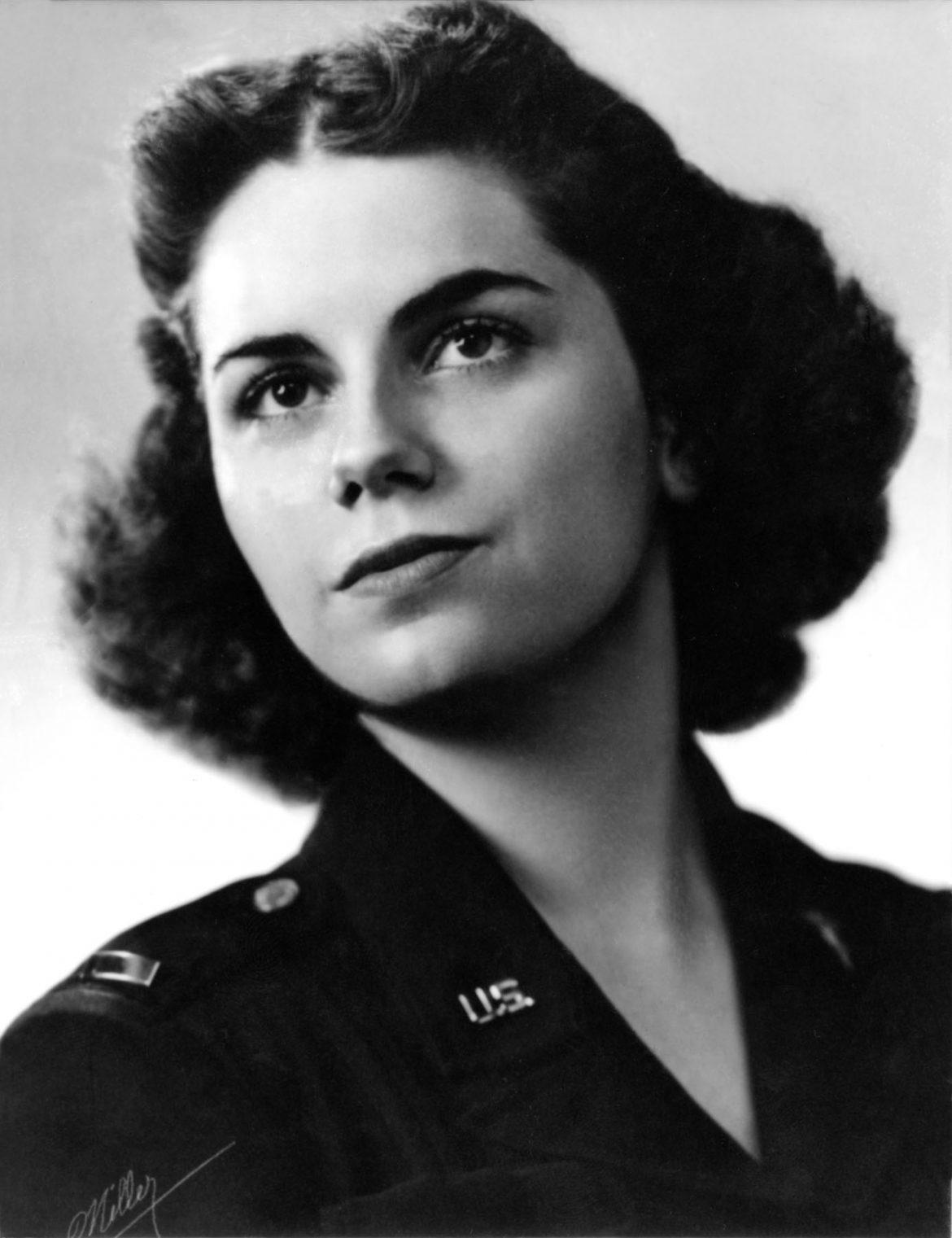 Army Flight Nurse Mary Louise Hawkins