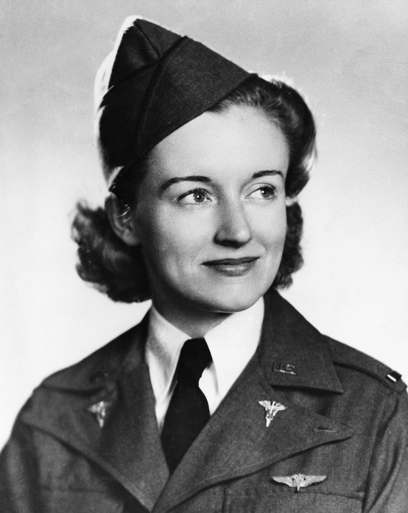 USAAF Flight Nurse Ruth M. Gardiner