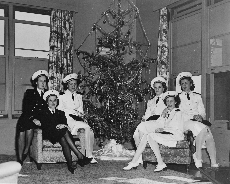 Pearl Harbor Navy Nurses Celebrate Christmas