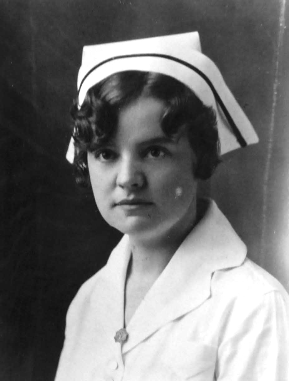 WWII Navy Nurse LT(JG) Goldia Aimee O'Haver