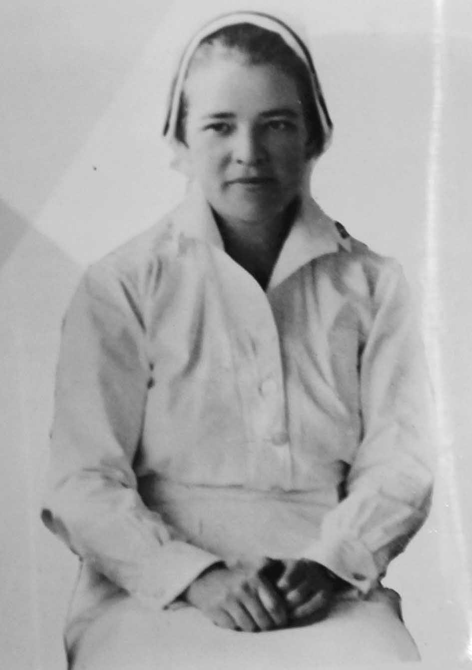 WWII Navy Nurse LT(JG) Susie Josephine Pitcher
