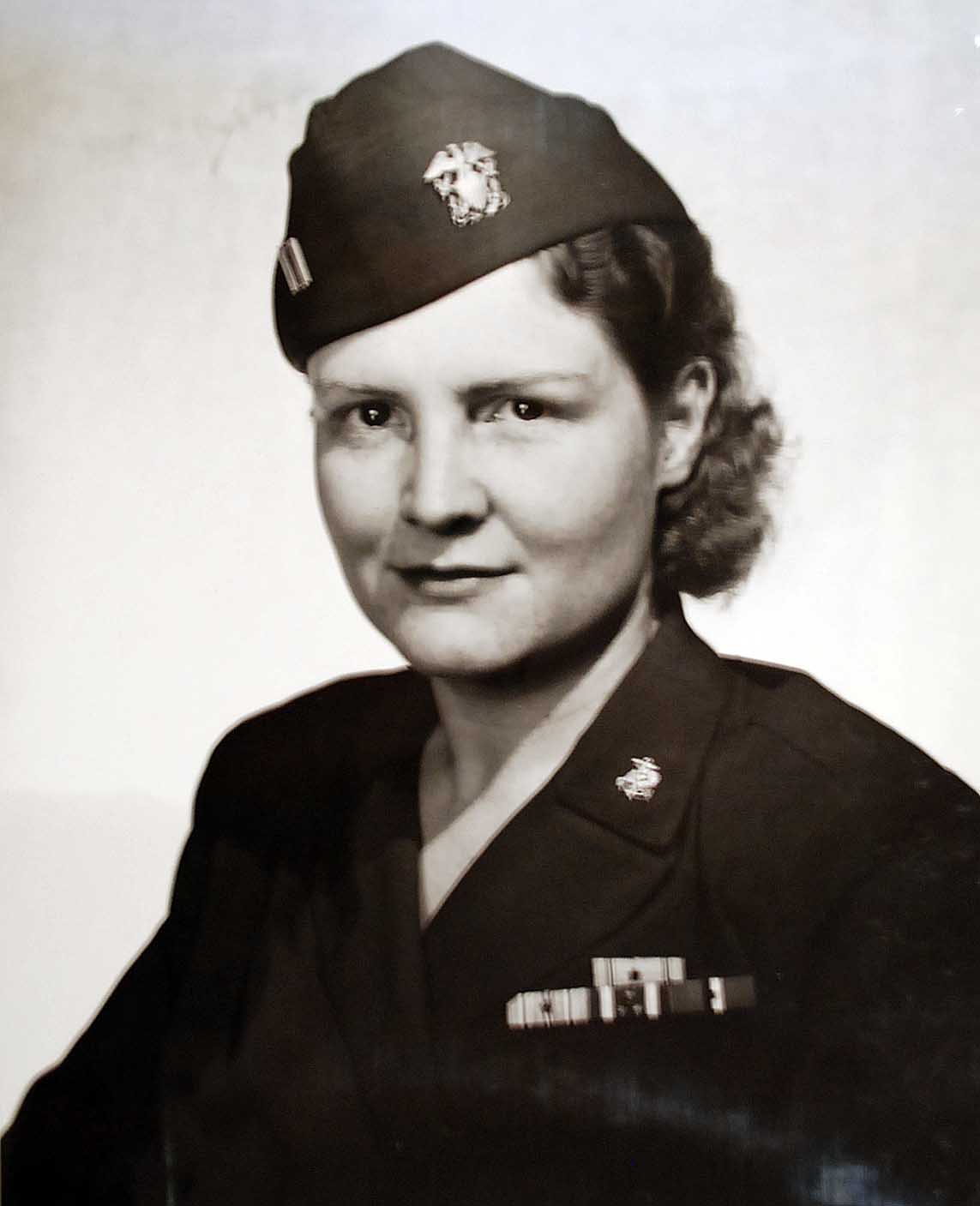 Former POW Navy Nurse Mary R. Nelson