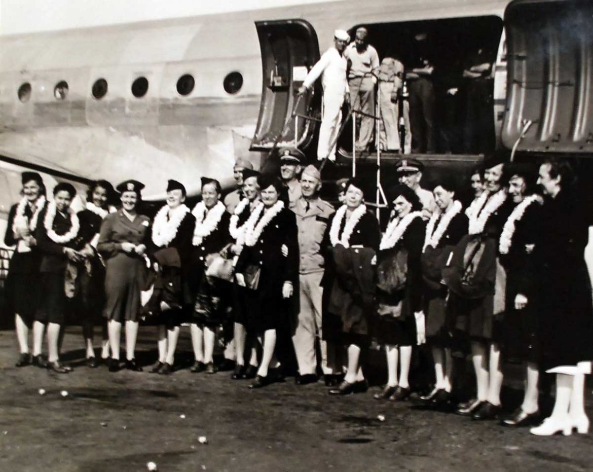 Freed U.S. Navy Nurses Homeward Bound