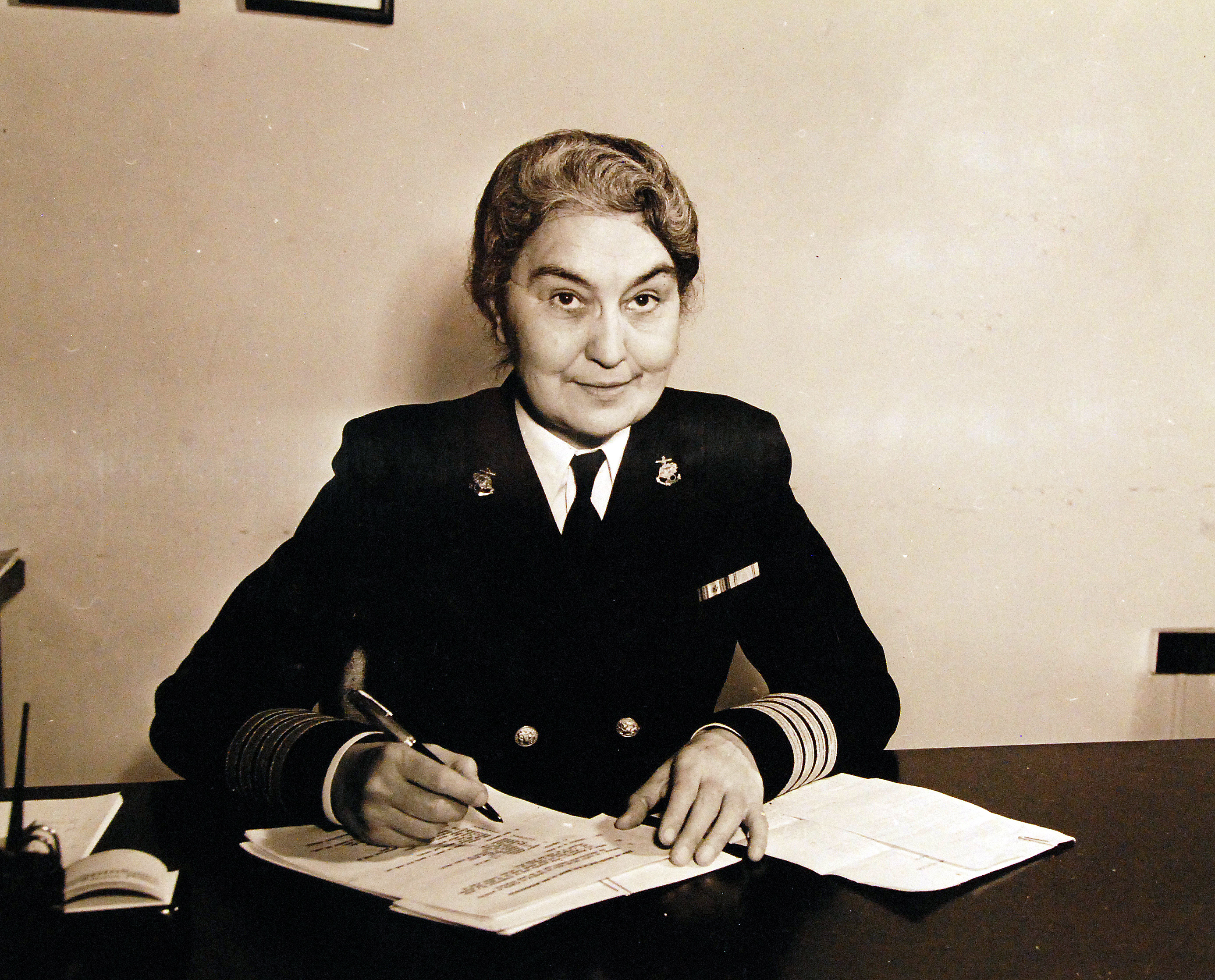 Captain Sue Dauser, Superintendent of Navy Nurses