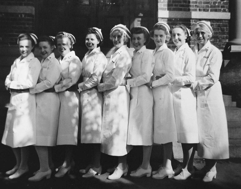 Navy Nurses of Naval Hospital in Bremerton, Washington