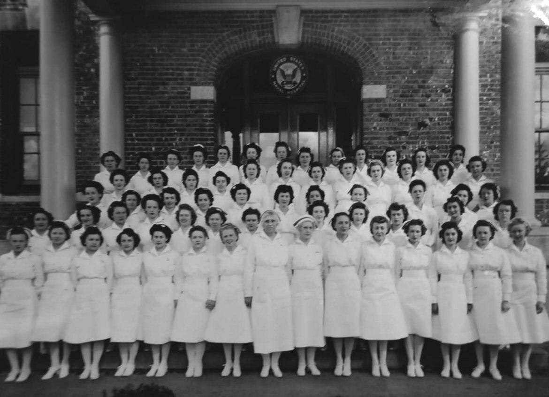 Bremerton Naval Hospital Nurses Group Photo