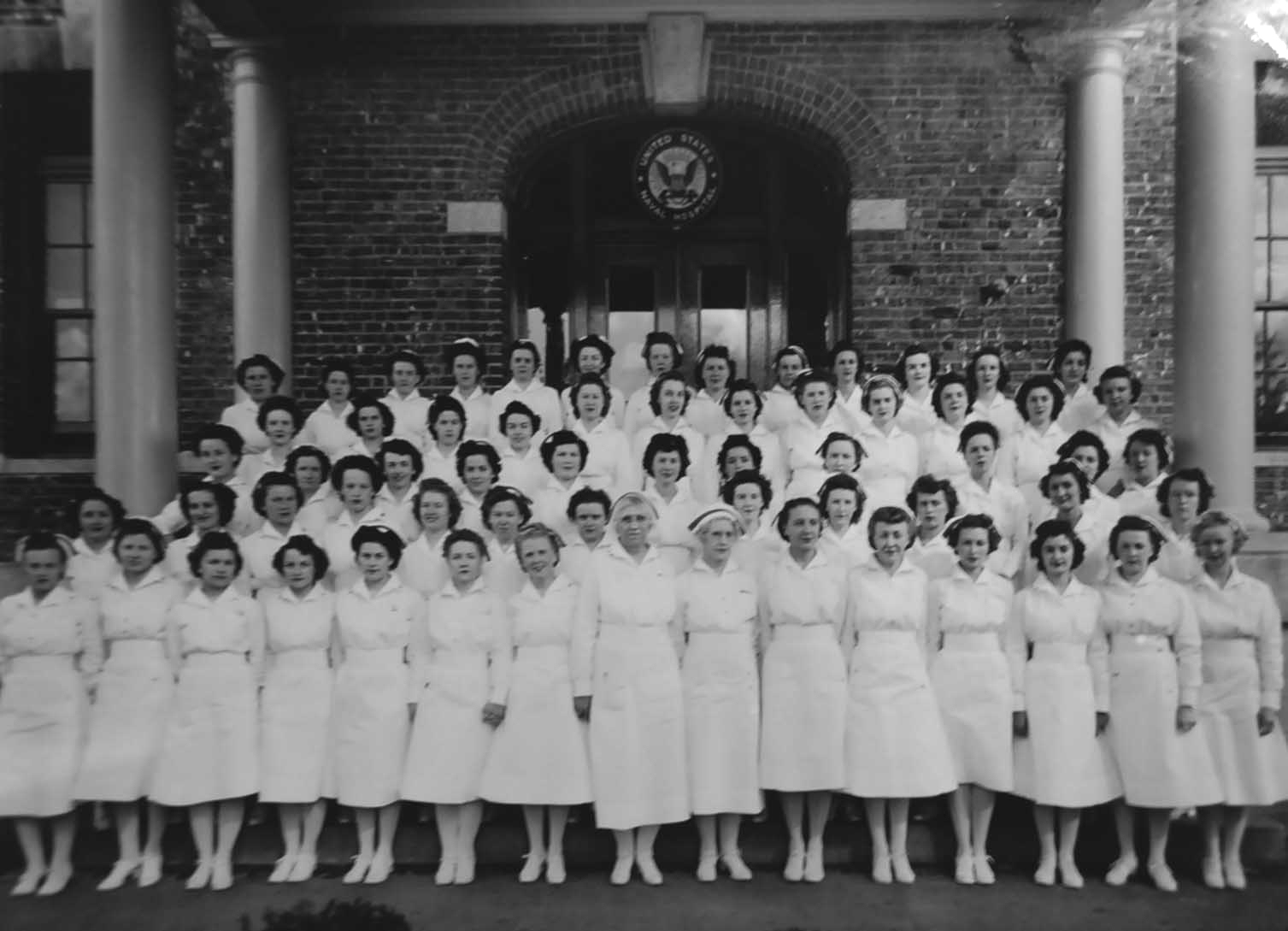 Bremerton Naval Hospital Nurses Group Photo