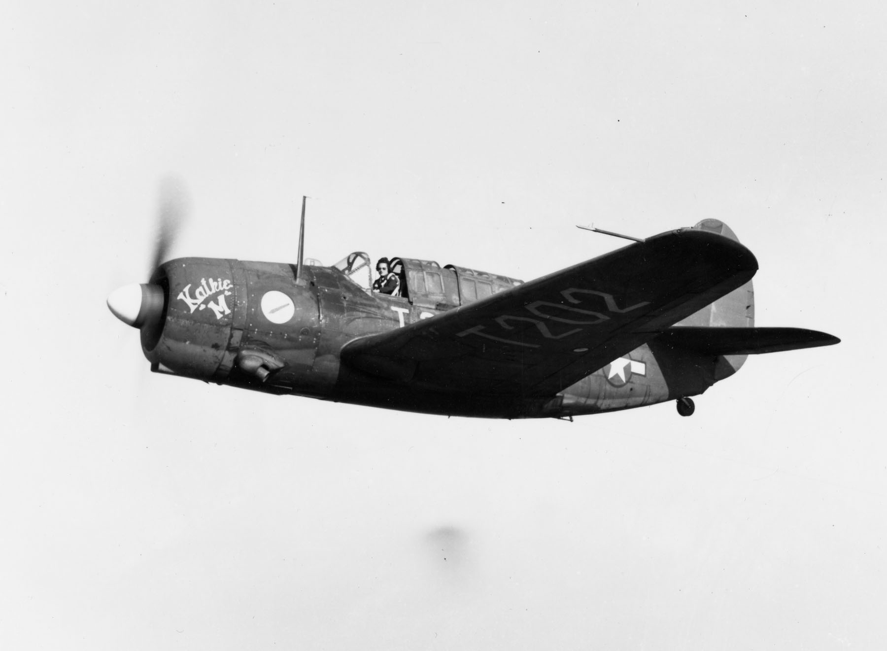 WASP Pilots an A25-A on Tow Mission in Georgia