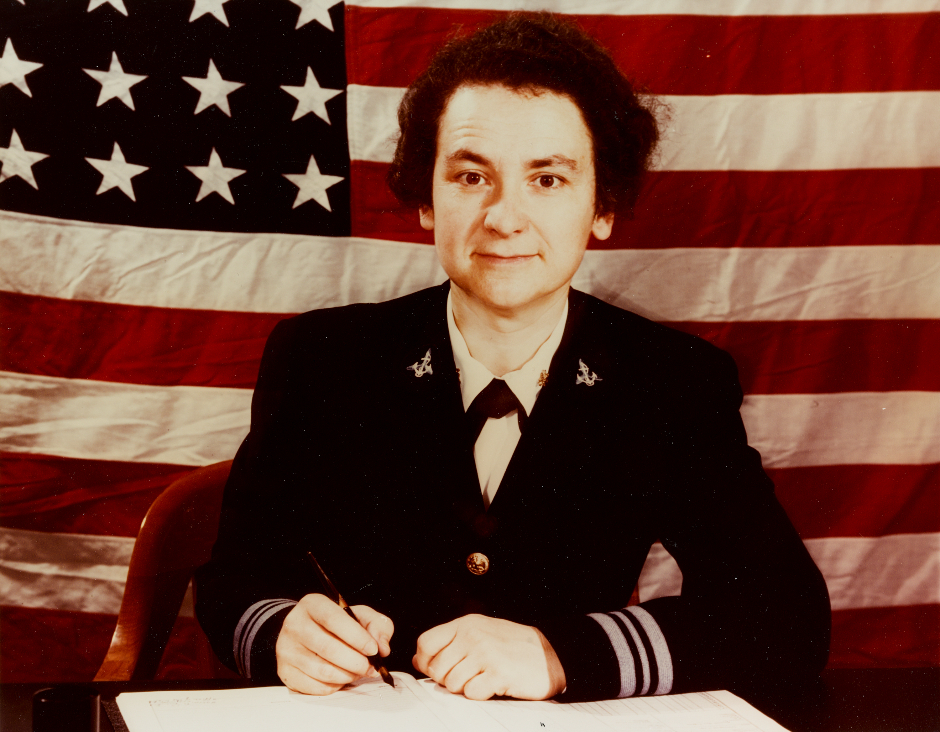 Lieutenant Commander Mildred H. McAfee, USNR