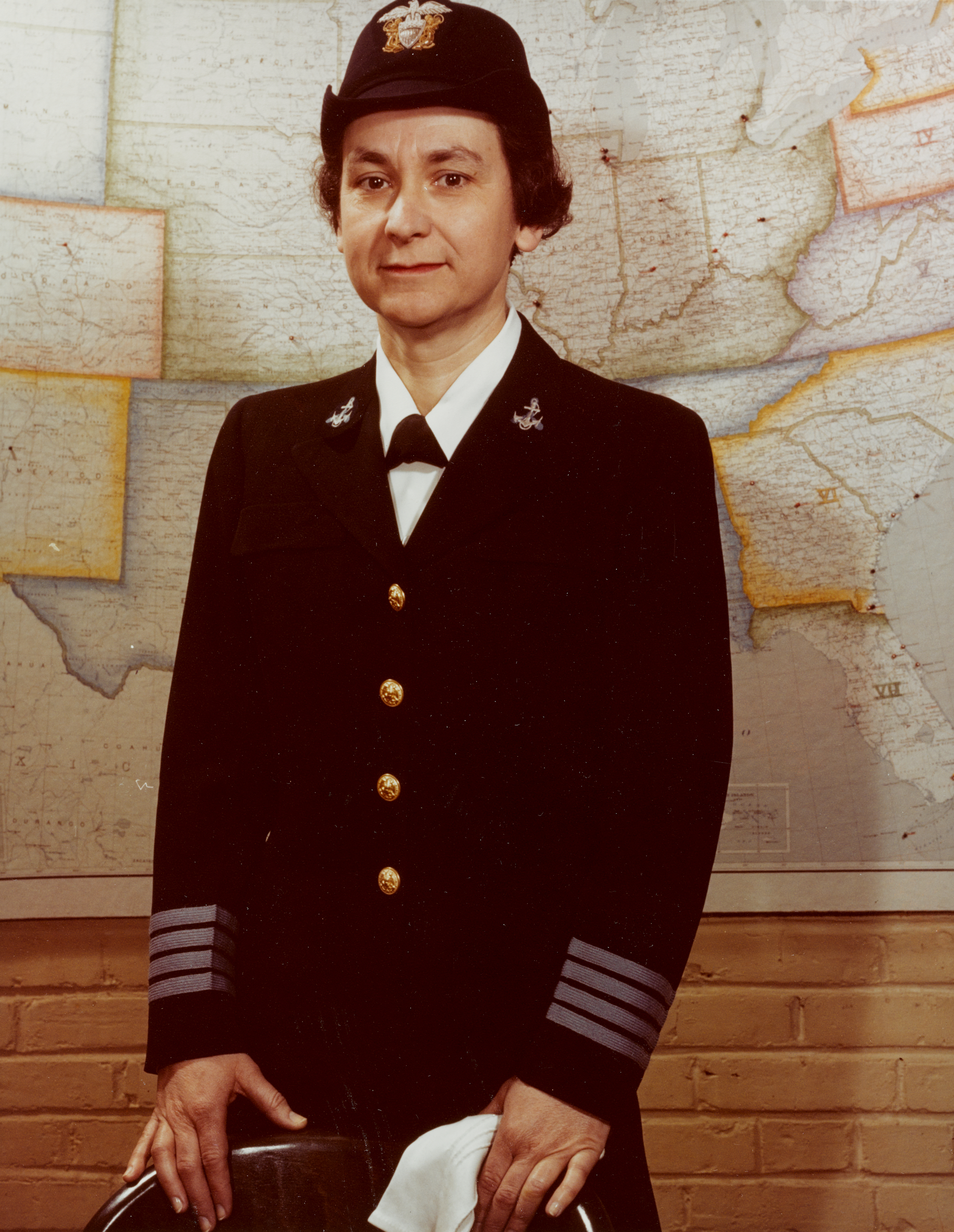 Captain Mildred H. McAfee, USNR