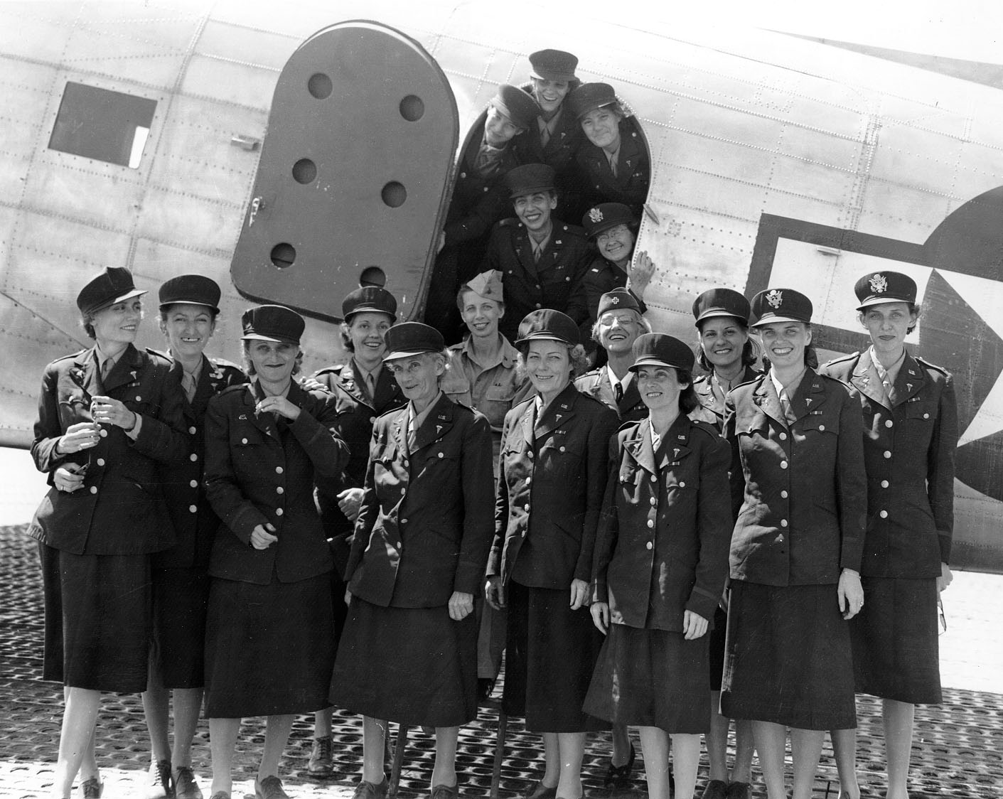 Angels of Bataan Arrive at Hickam Field in Hawaii