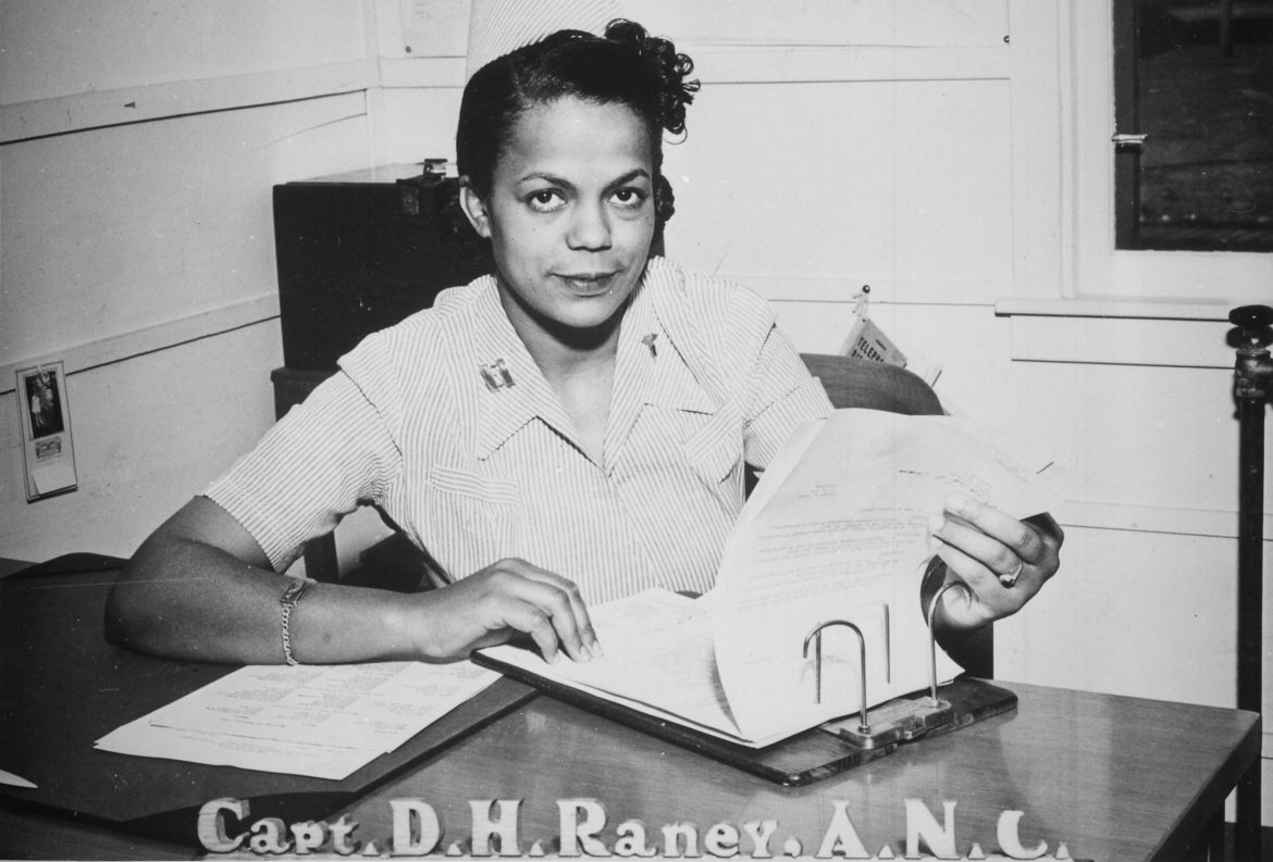 US Army Nurse Corps Captain Della H. Raney
