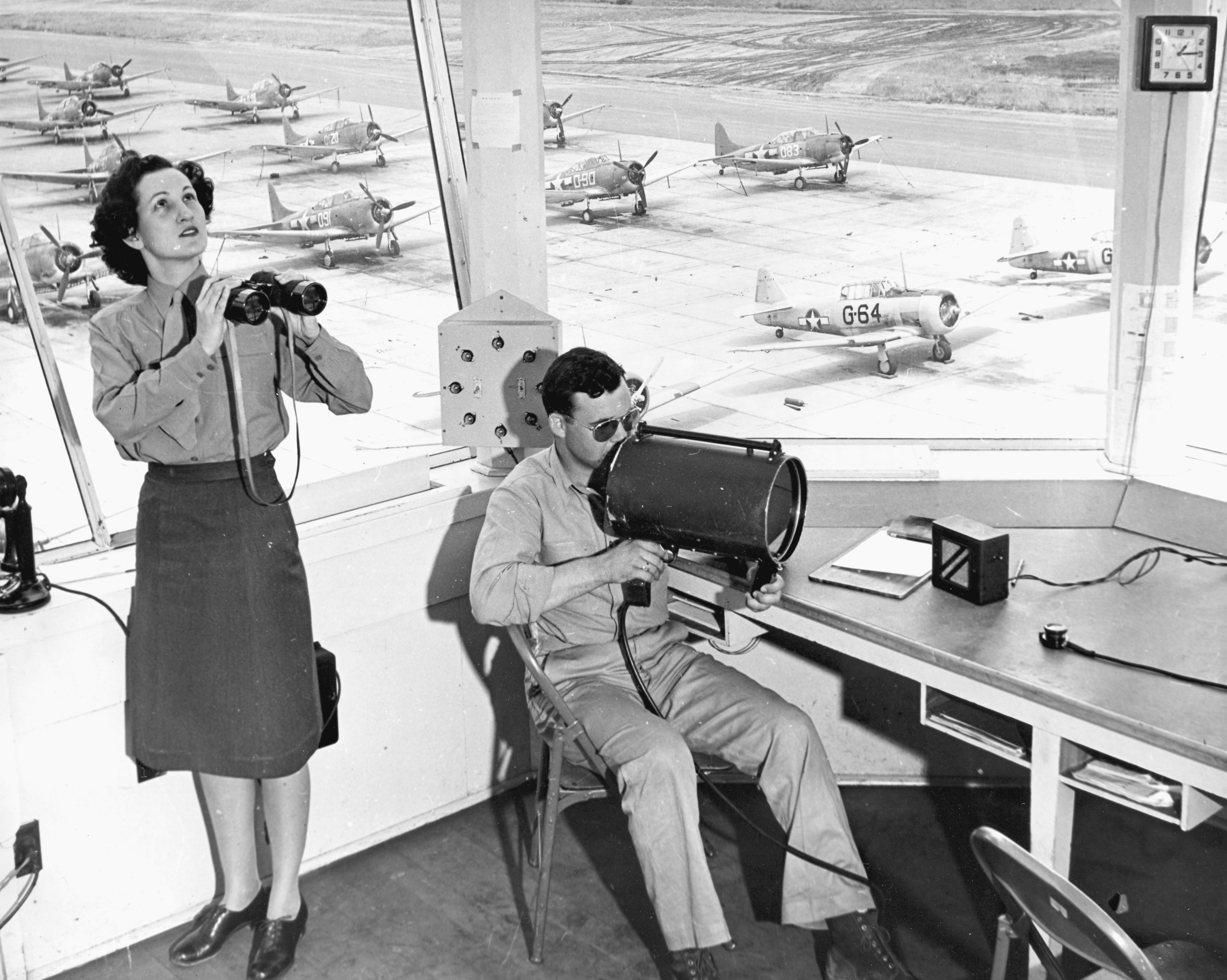 Air Traffic Control Marines at El Toro, California