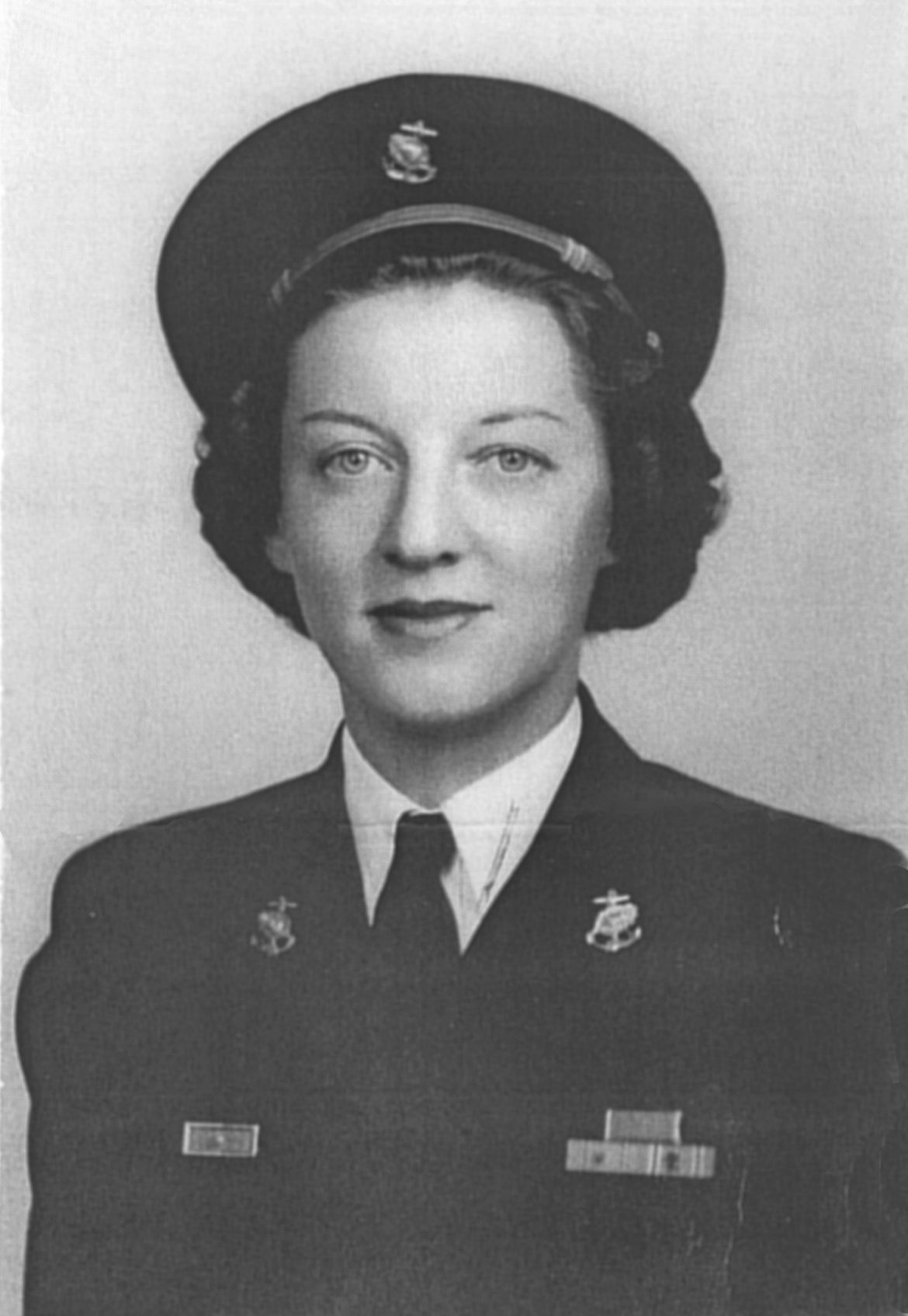 Portrait of Navy Nurse Ann A. Bernatitus