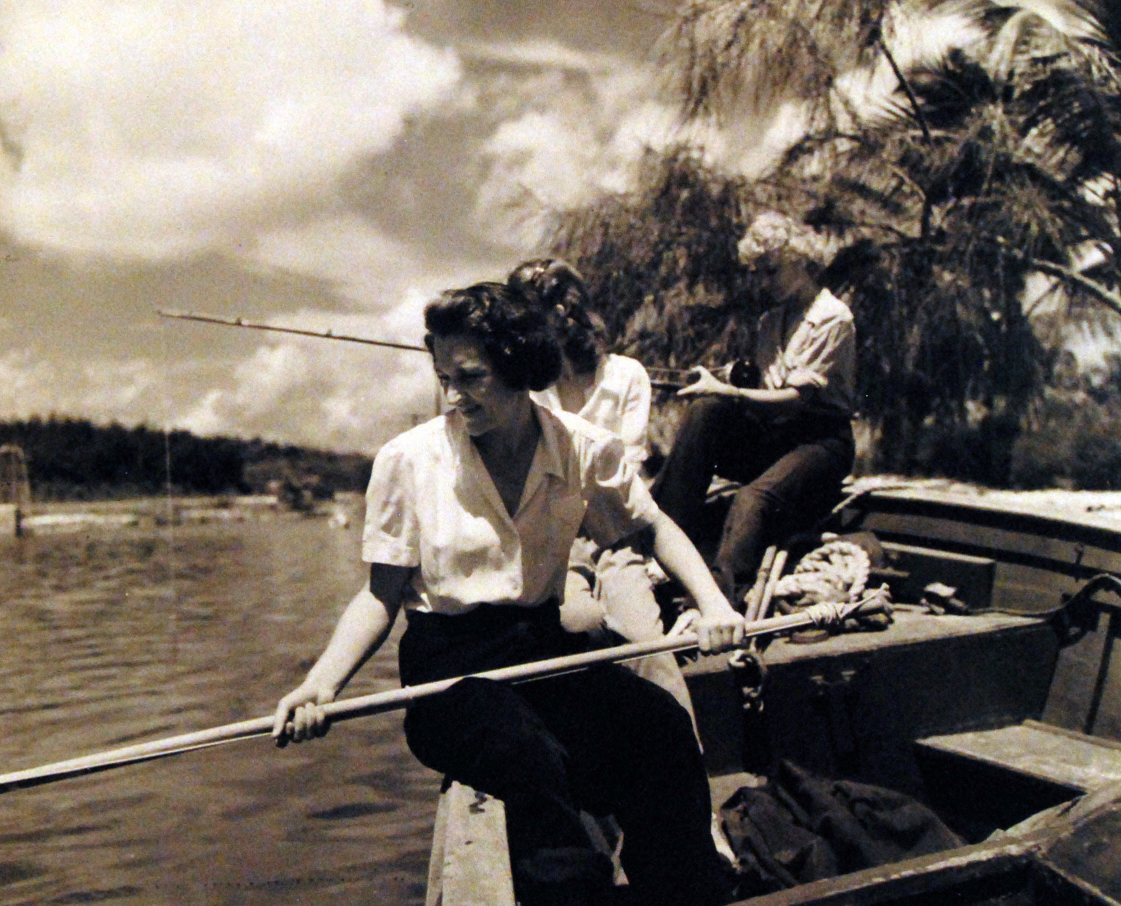 Navy Nurses Fishing in Key West, Florida