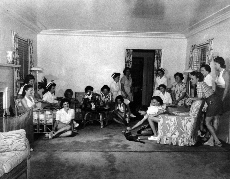 Key West Nurses Relaxing in Their Quarters