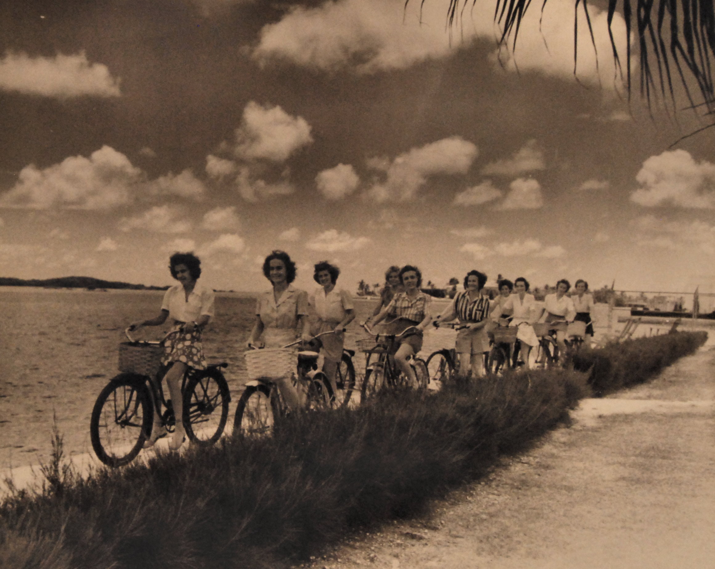 Navy Nurses Bicycling in Key West