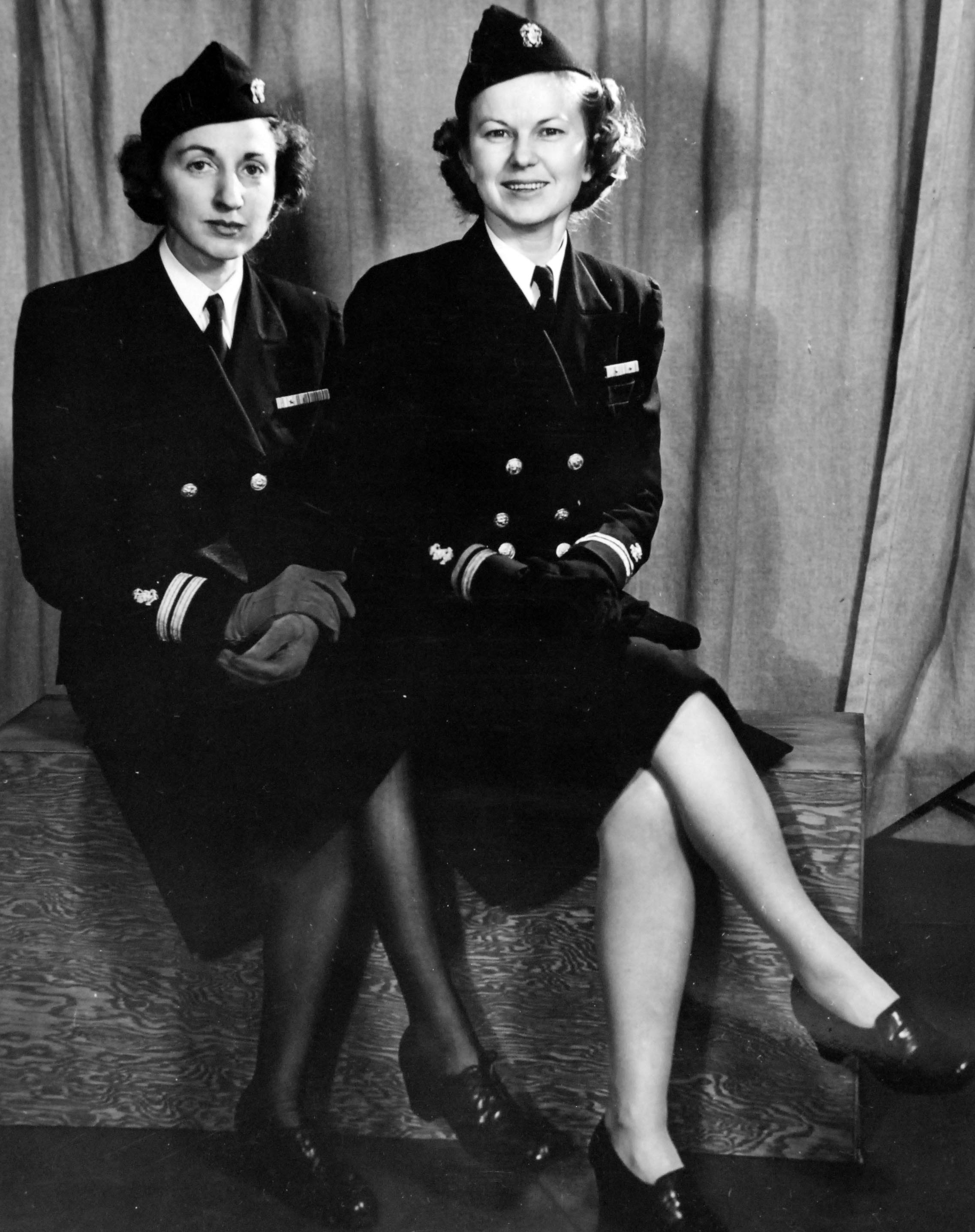 Navy Nurses Model Uniform Stockings