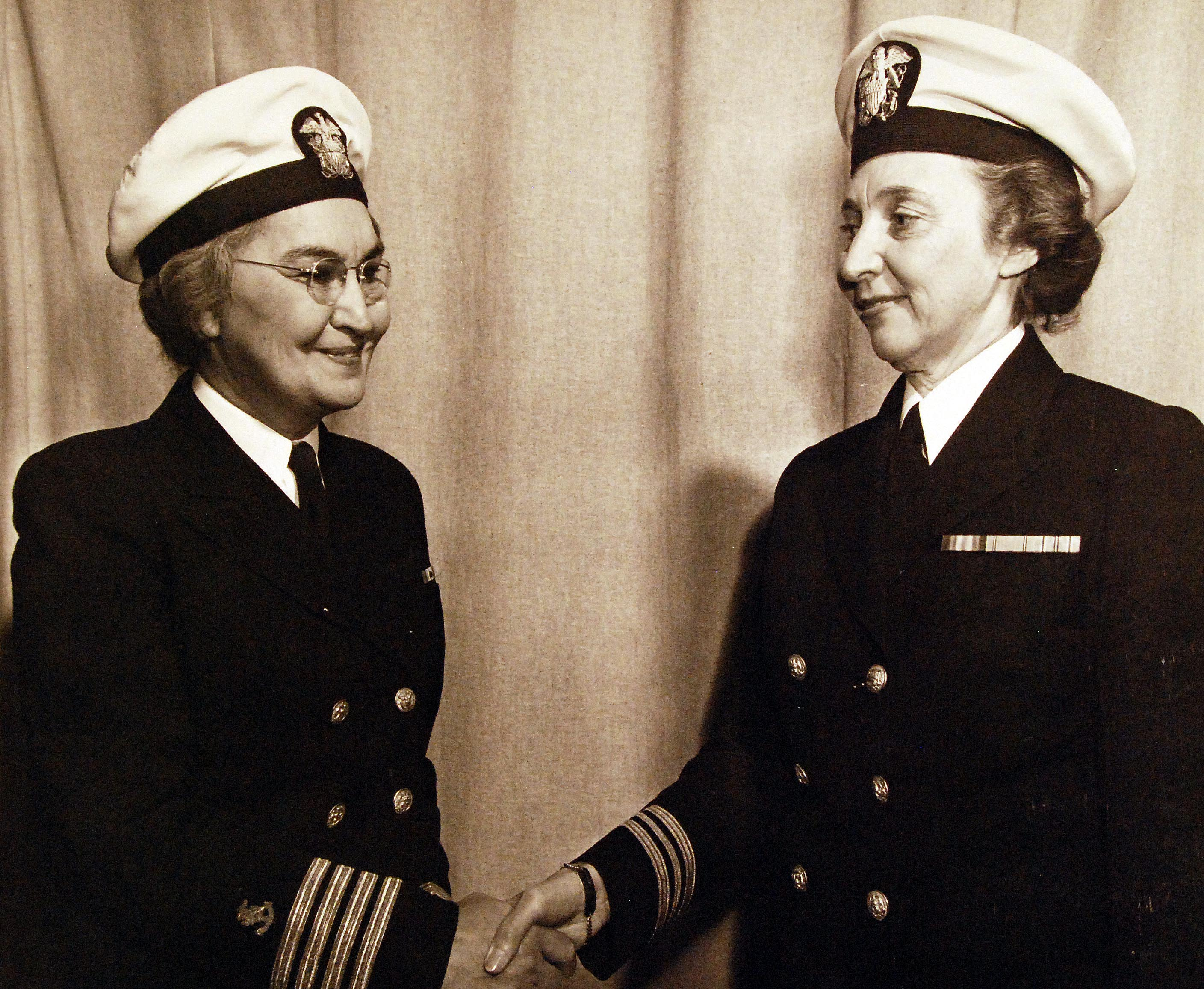 Fifth and Sixth Navy Nurse Corps Superintendents