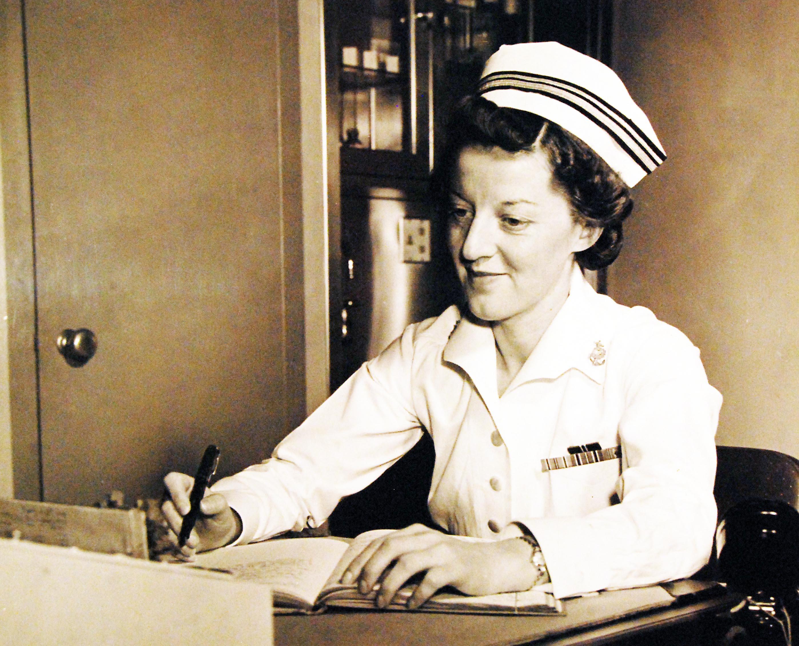 Navy Nurse LT(JG) Ann Bernatitus