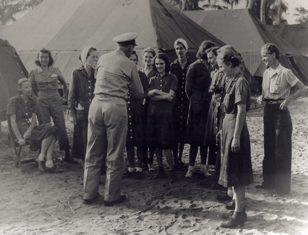US Navy Nurses Rescued from Los Banos