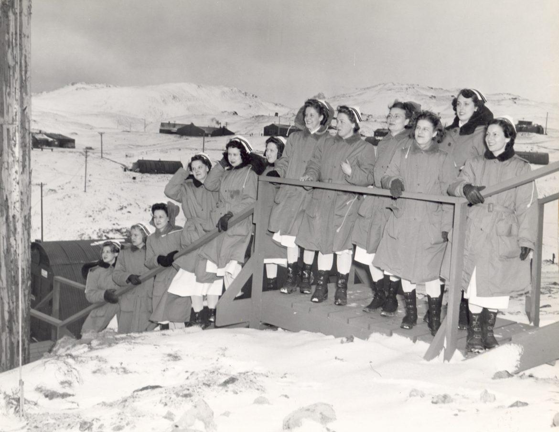 Navy Nurse Corps at Adak, Alaska