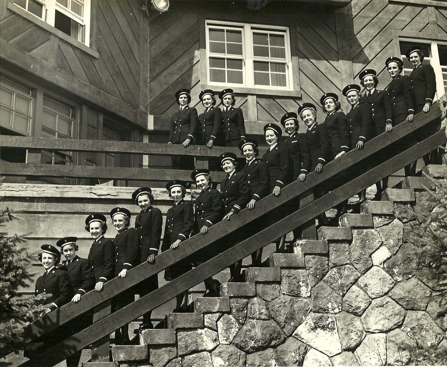 Navy Nurses at Naval Convalescent Hospital in Idaho