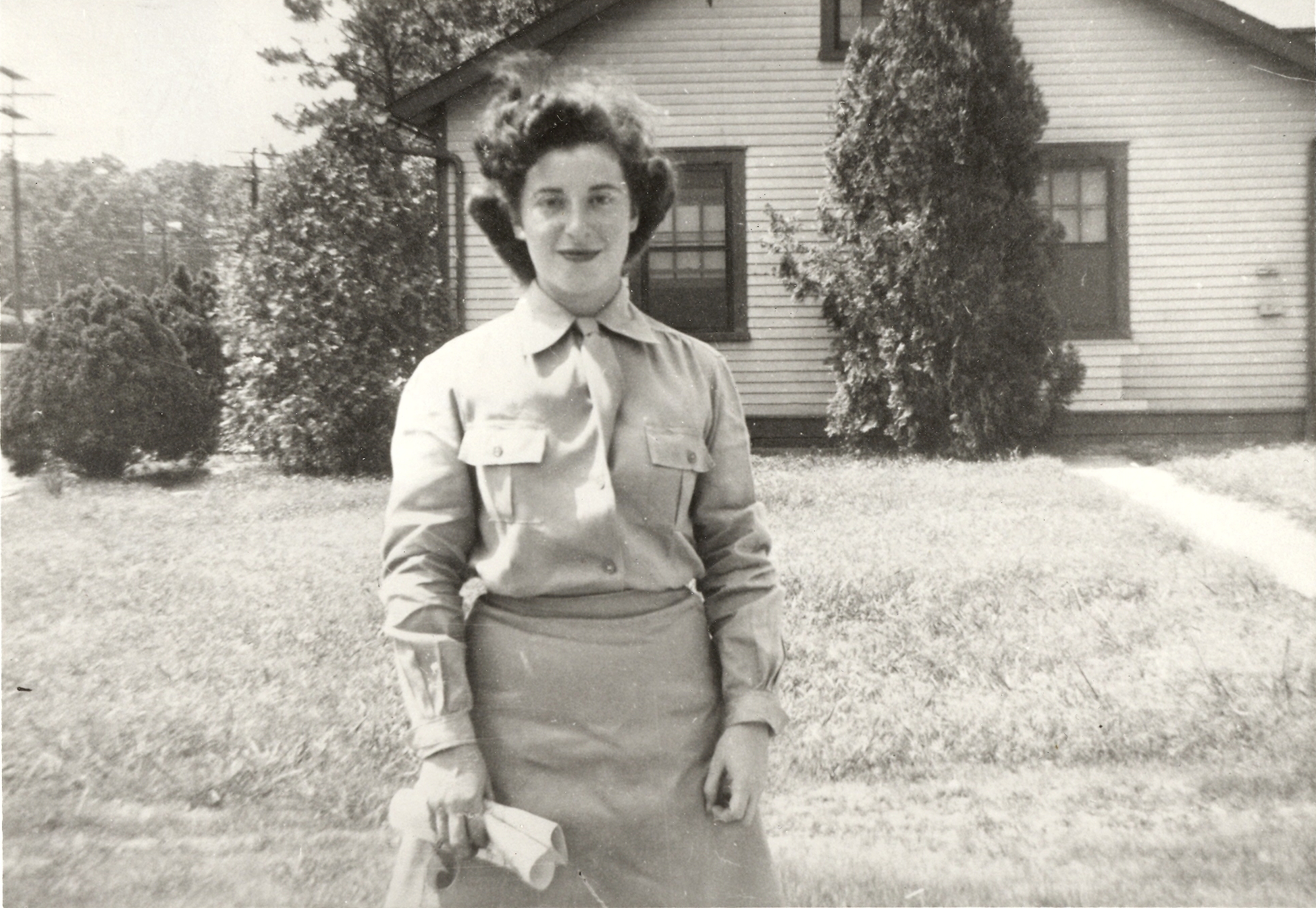 World War II Army WAC Rebecca Wolinsky