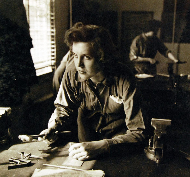 Former Nurse Dolores Czarnecki of the WAVES