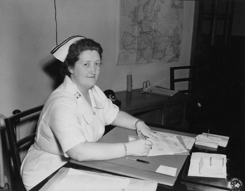 Chief Army Nurse at Camp Atterbury, Indiana