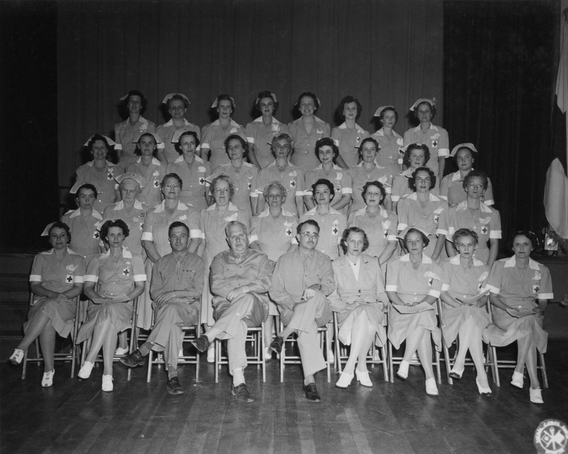 "American Red Cross ""Gray Ladies"" Graduating Class"
