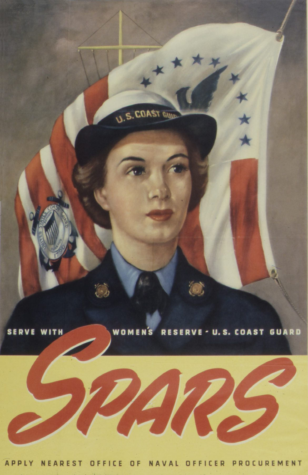 SPARS Recruiting Poster during World War II