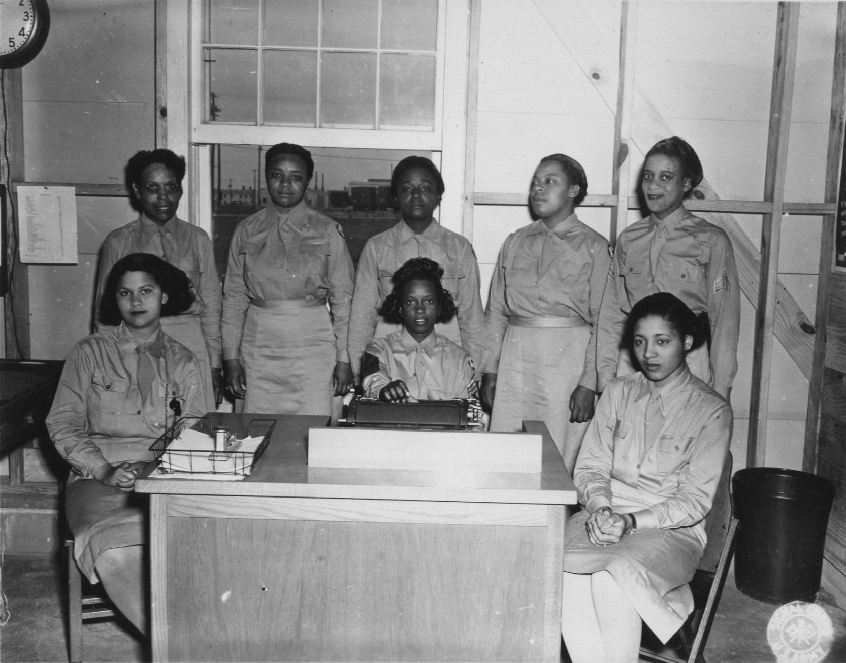 African-American WACs at Camp Atterbury, Indiana