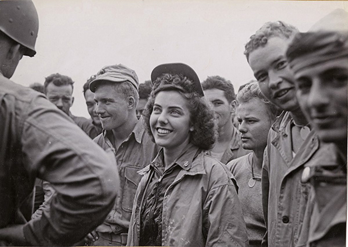 First Navy Flight Nurse on Iwo Jima