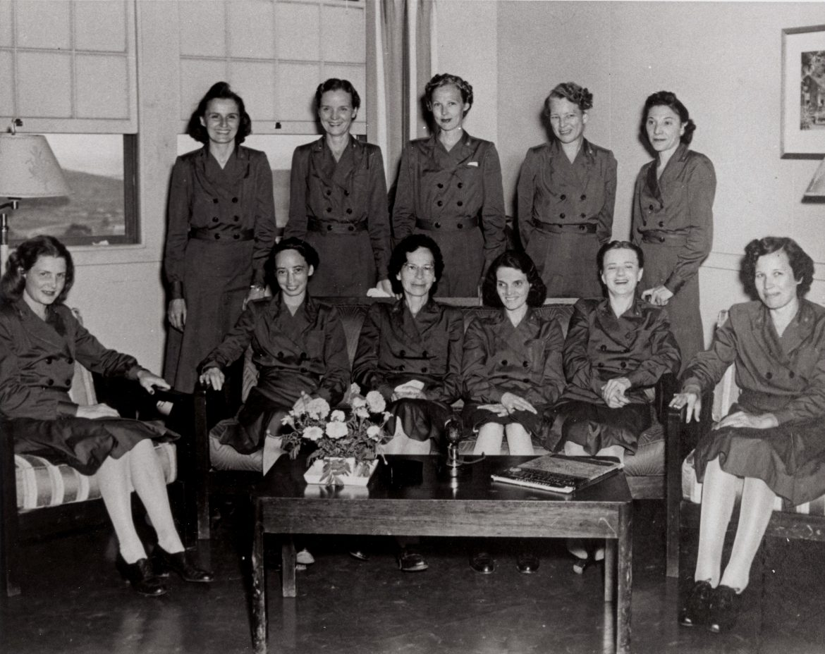 WWII Navy POW Nurses Following Liberation