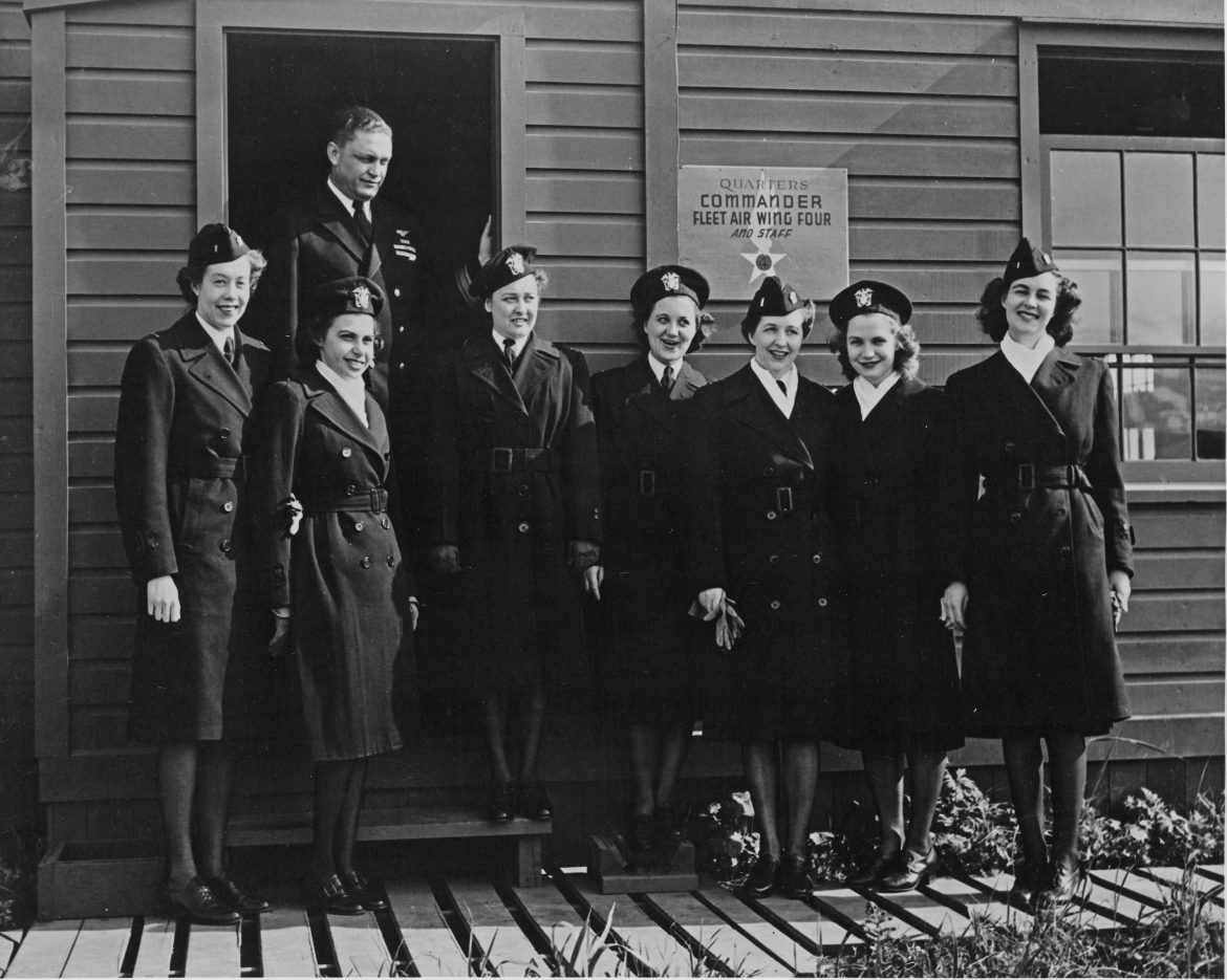 Nurses at a WWII Naval Hospital in Alaska
