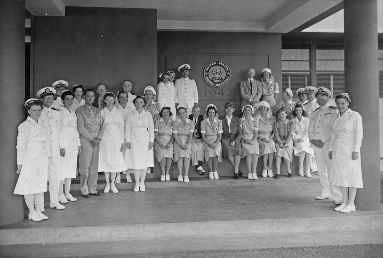 Administrative Group at Pearl Harbor Naval Hospital