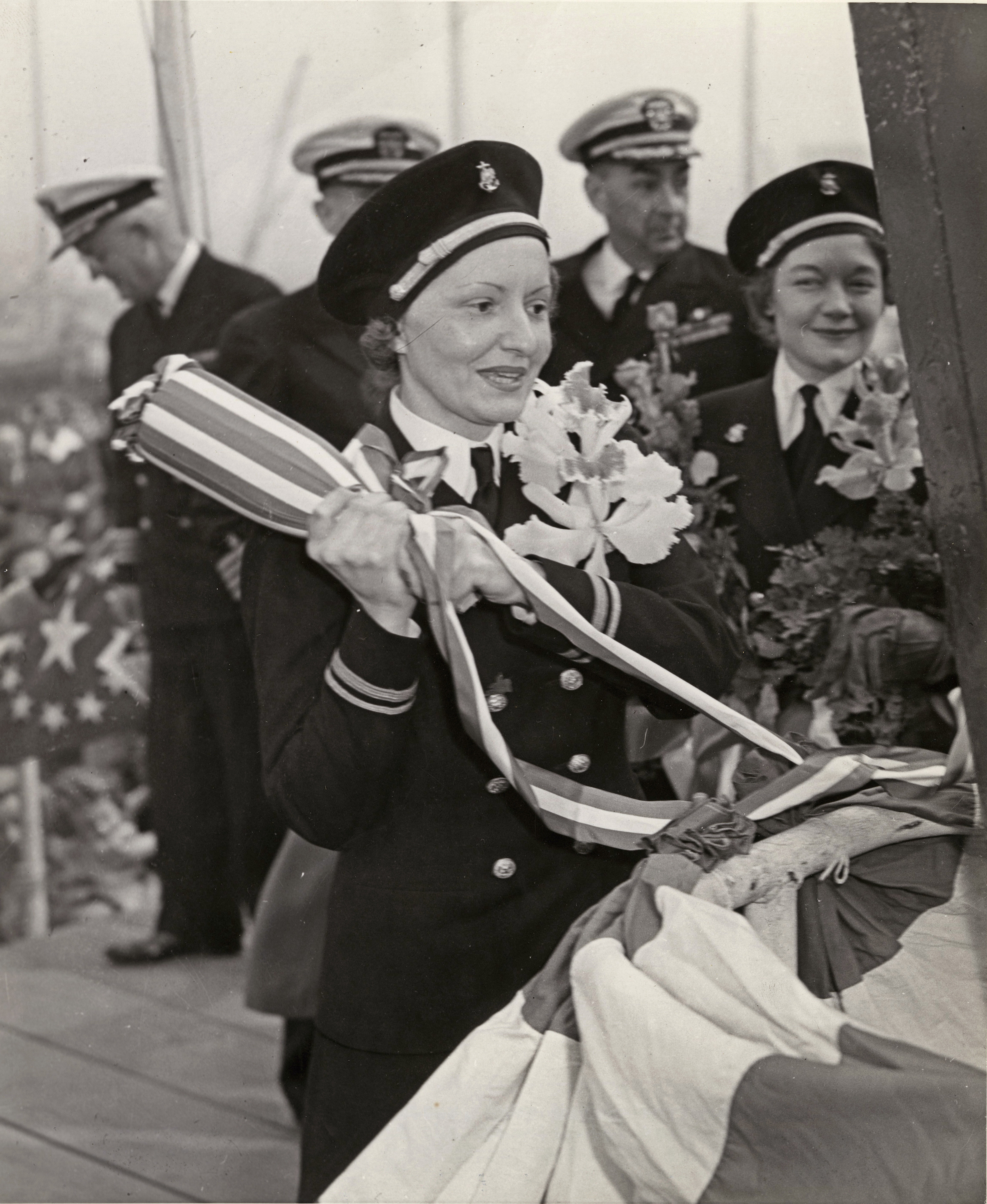 Navy Nurses Christen Hospital Ship USS Mercy